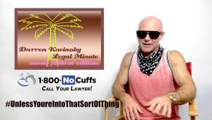 Darren Kavinoky Music Festival Legal Minute