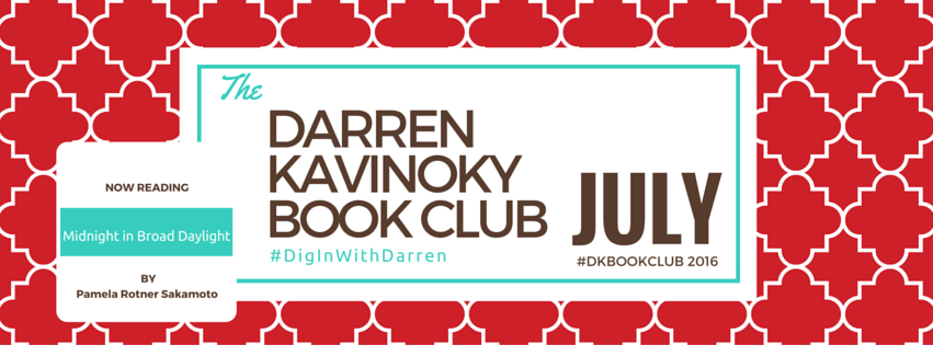 Darren Kavinoky July 2016 Book Club