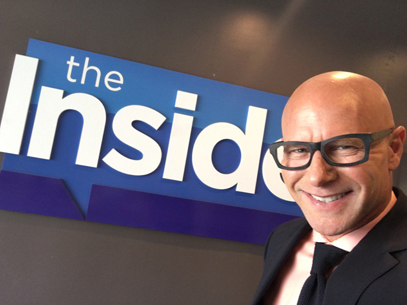 Darren Kavinoky at The Insider July 18 2016 discussing the legal issues posting the phone call by Kim Kardashian of Kanye West talking to Taylor Swift