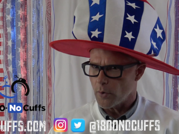 Celebrate our Differences on 4th of July with 1.800.NoCuffs Darren Kavinoky