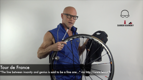 Darren Kavinoky on the 103rd Tour de France 2016