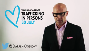 World Day Against Human Trafficking in Persons is July 30, 2016