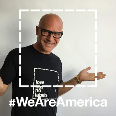 Join Darren Kavinoky and create your #WeAreAmerican gif at lovehasnolabels.com