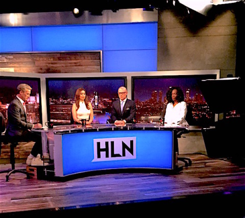 HLN Darren Kavinoky discussing Chris Brown arrest