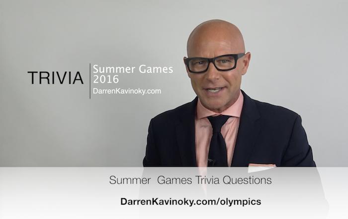 Summer Games Trivia with Darren Kavinoky