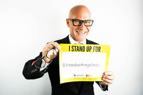 Darren Kavinoky #standwitheyebobs & Stand Up 2 Cancer