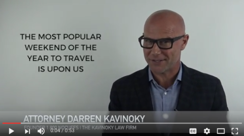 Darren Kavinoky Labor Day weekend Raising Awareness on drunk driving video