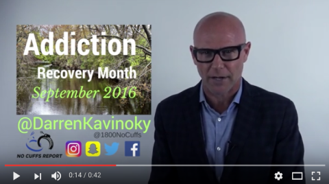 Addiction Recovery Free Event October 1st featuring Darren Kavinoky by Many Paths One Direction