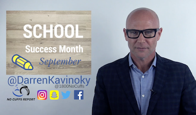 3 Tips for School Success for School Success Month, September by Darren Kavinoky