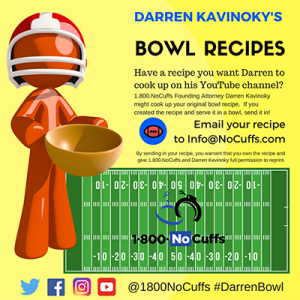 #DarrenBowl Submit your original recipe for the Darren Bowl and Darren Kavinoky might prepare it on his YouTube channel!
